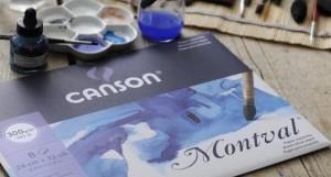 Papel para Acuarela Montval de Canson