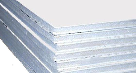 carton pluma blanco