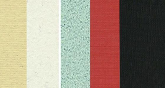 Cartulinas con Texturas (Gofradas)