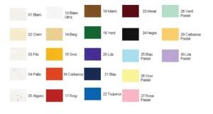 papel de color hecho a mano