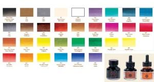 colores tintas Sennelier