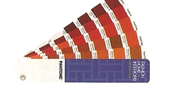 Guía textil de Pantone
