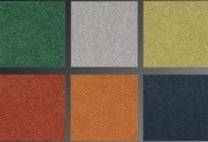 Seis colores disponibles en vinilos, ideales para una encuadernación de lujo con acabados brillantes.