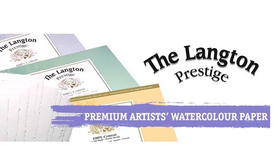 Papel para Acuarela Langton Prestige