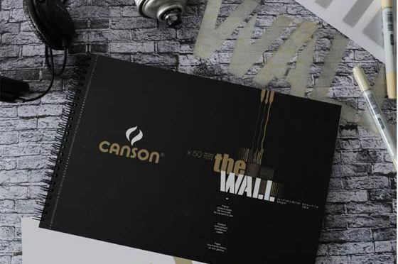 papel para dibujo Canson The Wall