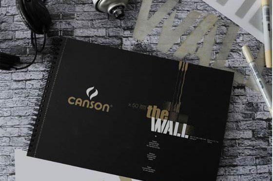 Canson® The Wall – Papel para dibujo y artes gráficas